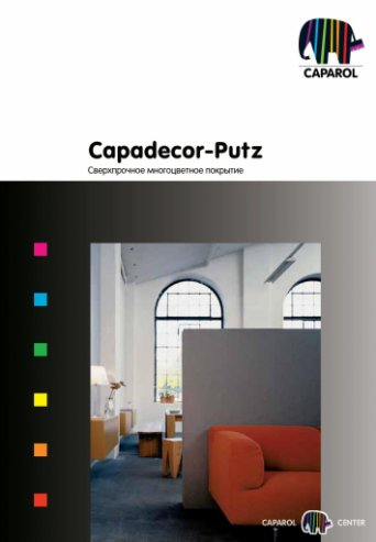 Capadecor-Putz